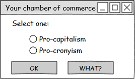 Your chamber of commerce radio buttons