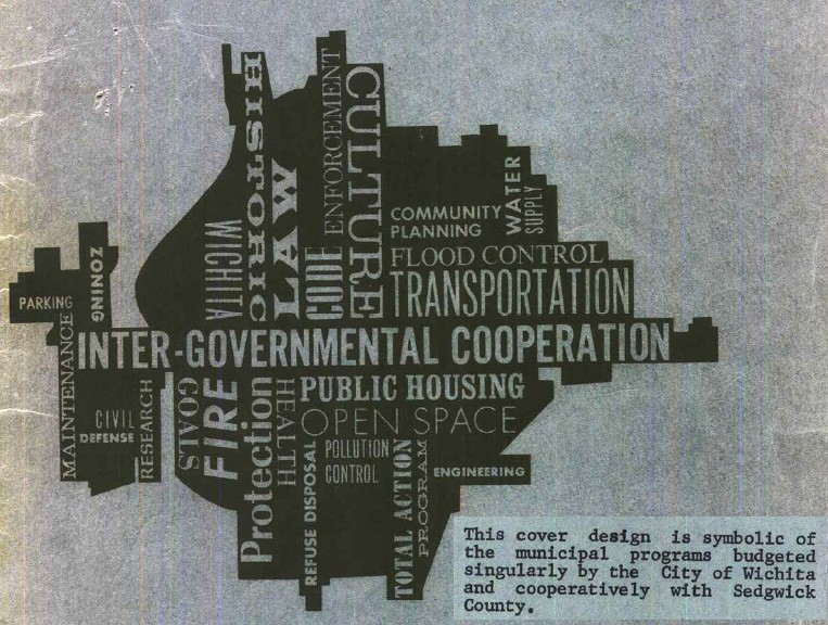 Wichita City Budget Cover, 1967