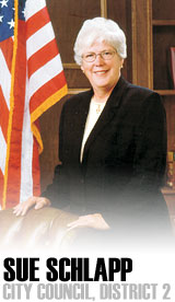Wichita City Council Member Sue Schlapp