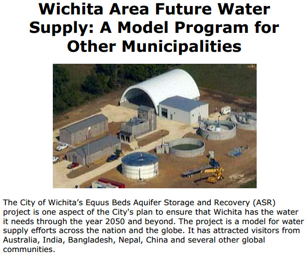Wichita area future water supply cover