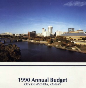 Wichita City Budget Cover, 1990
