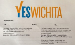"""Yes Wichita"" campaign material. Click for larger version."