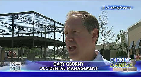 Gary Oborny Fox News 2014-08-25