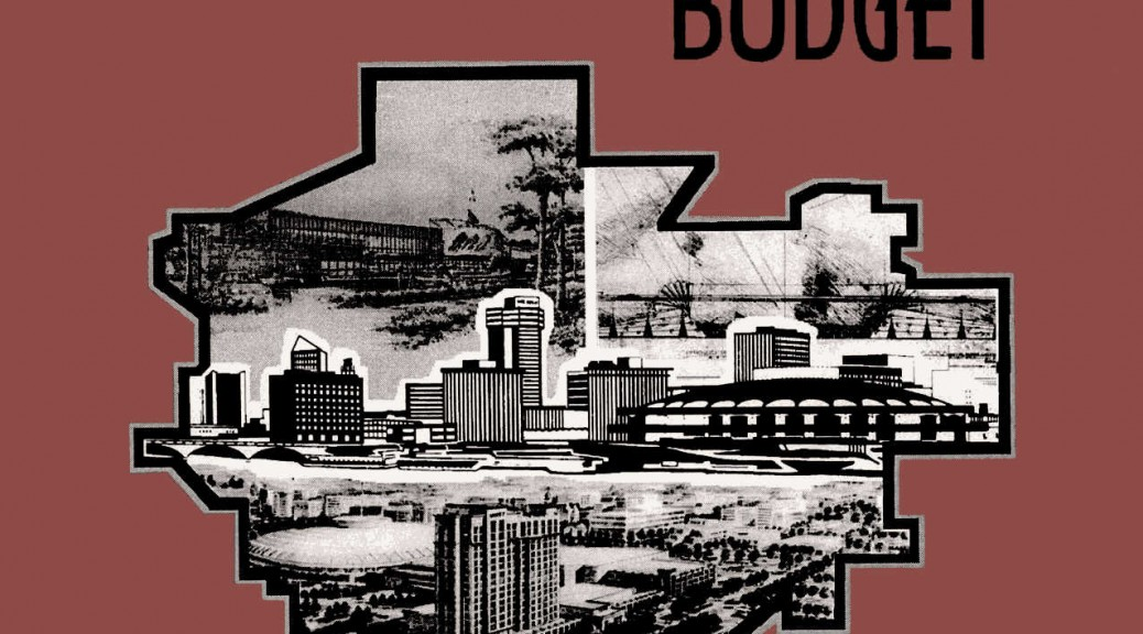 Wichita City Budget Cover, 1996 b