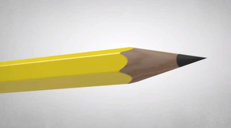 I Pencil illustration