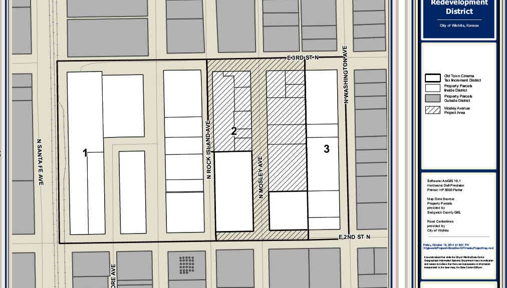 Mosley Avenue Project Plan Map