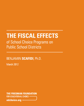 The Fiscal Effects of School Choice Programs on Public School Districts (cover)