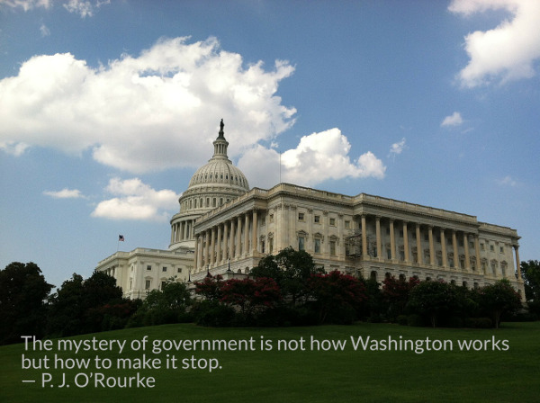 The mystery of government is not how Washington works PJ O'Rourke