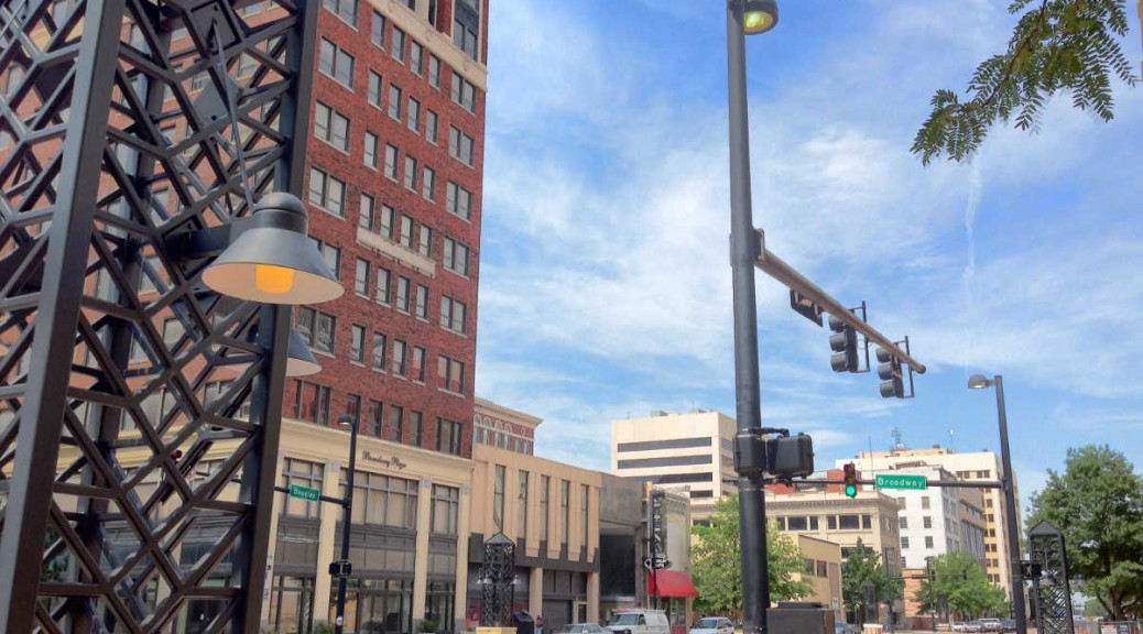 Downtown Wichita, June 5, 2015, 11:27 am