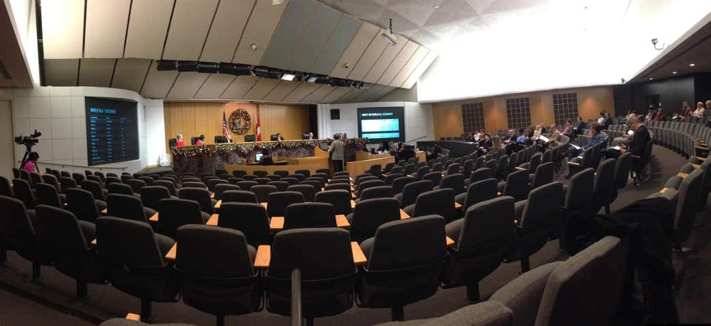 Wichita City Council Chambers, 2014