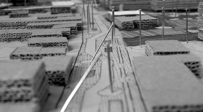 Plan planning paper city