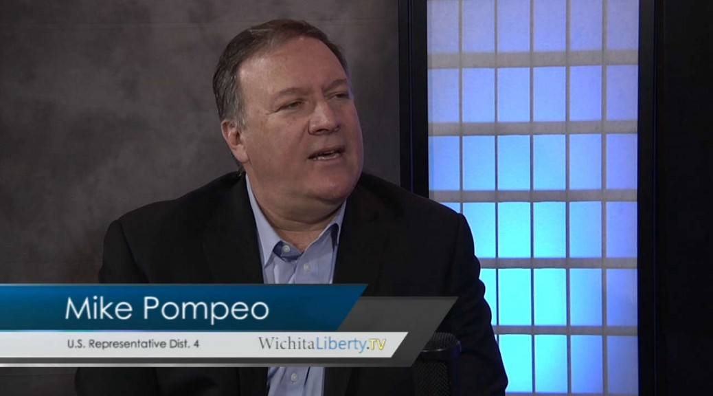 Mike Pompeo WichitaLiberty.TV 2015-11-29