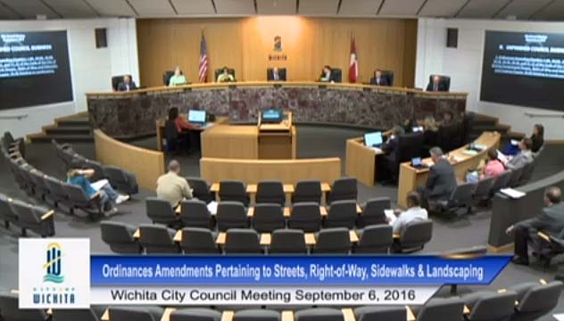 Wichita City Council, September 6, 2016
