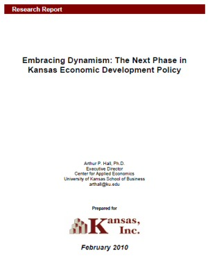 Embracing Dynamism: The Next Phase in Kansas Economic Development Policy