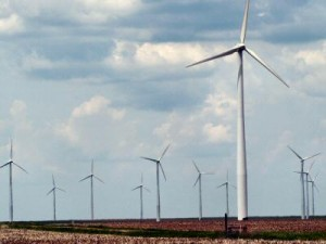 Kansas wind turbines
