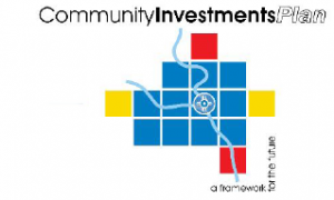 Wichita/Sedgwick County Community Investment Plan logo.