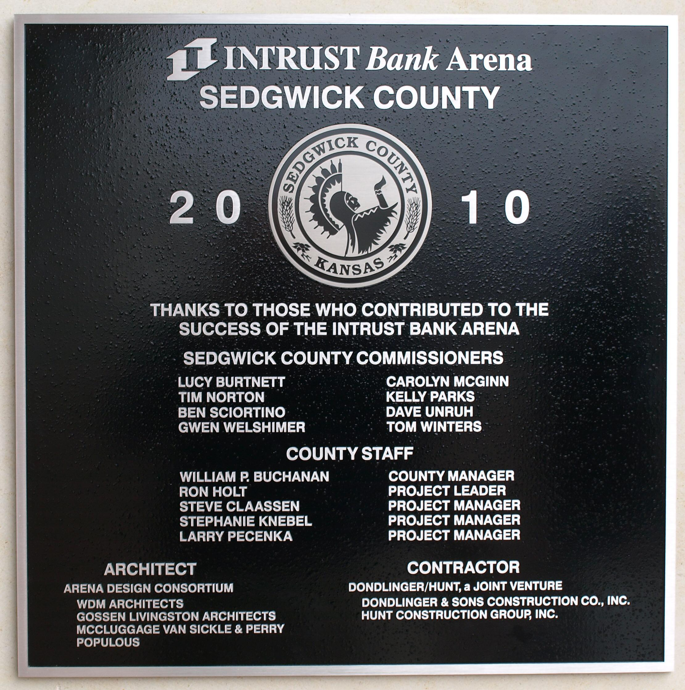 Intrust Bank Arena: Not accounted for like a business