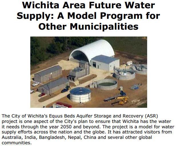 Wichita area future water supply cover