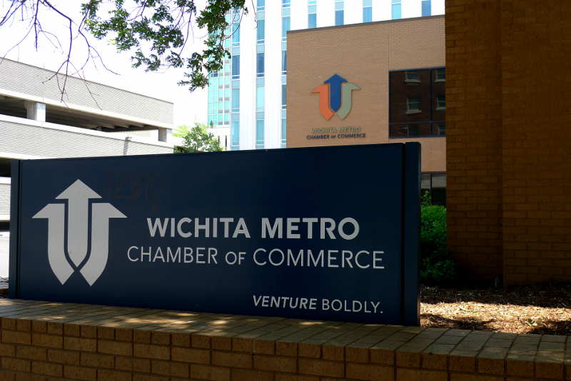 Wichita Metro Chamber of Commerce on the campaign trail