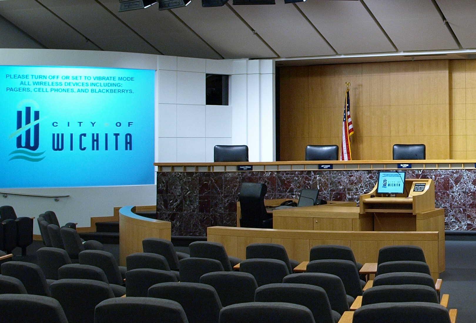 Wichita city council schools citizens on civic involvement
