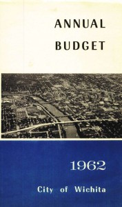 Wichita City Budget Cover, 1962