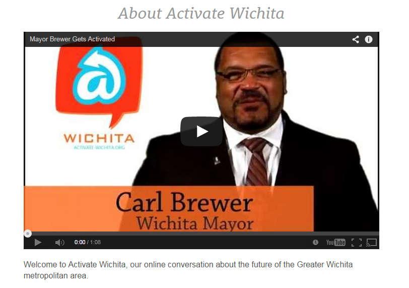 'Activate Wichita' illustrates city approach to citizen involvement