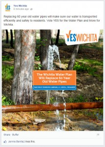 """Yes Wichita"" Facebook post. Click for larger version."