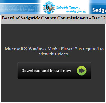 Sedgwick County video 2014-12-27