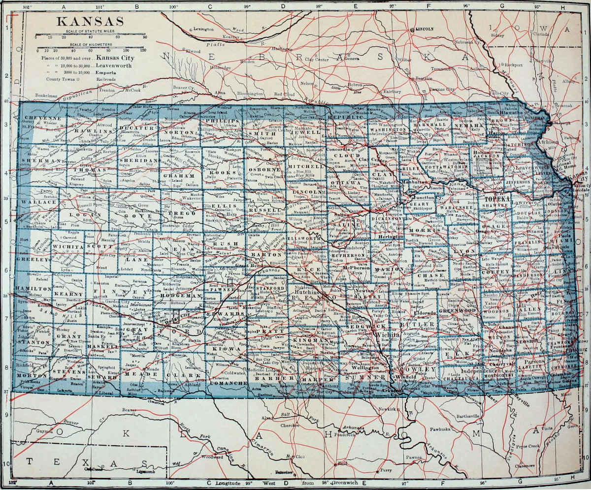The Kansas revenue problem in perspective