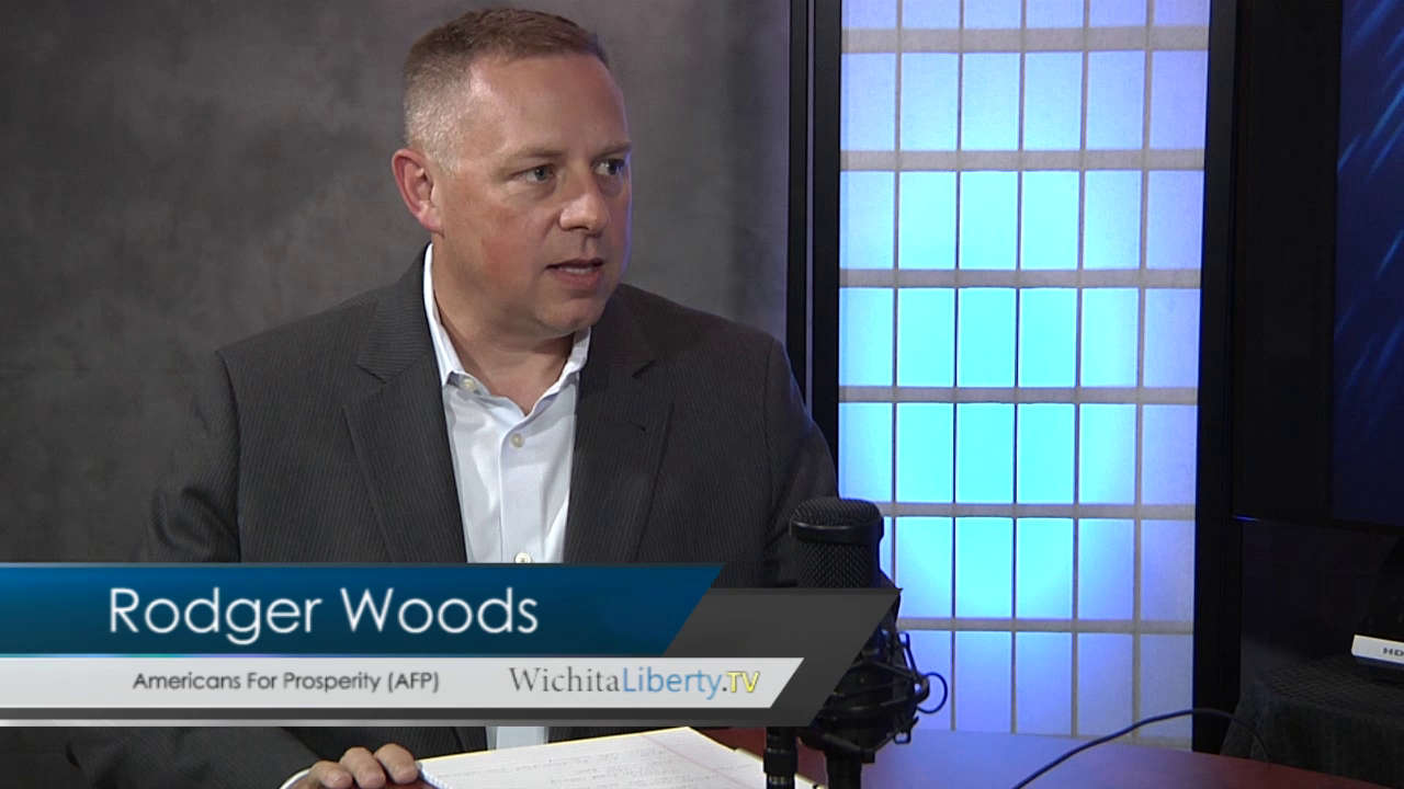 WichitaLiberty.TV: Rodger Woods of Americans for Prosperity-Kansas
