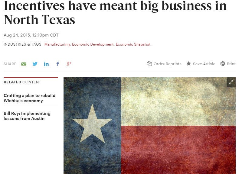 Wichita Business Journal reporting misses the point