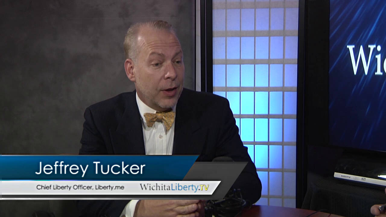 WichitaLiberty.TV: Jeffrey Tucker and 'Bit by Bit: How P2P Is Freeing the World'