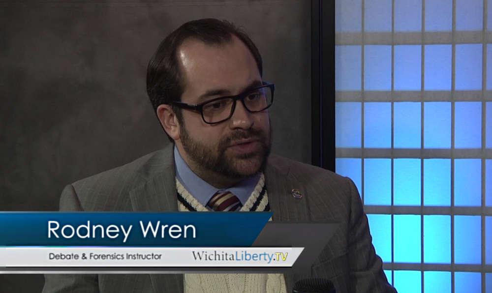 WichitaLiberty.TV: Debate expert Rodney Wren