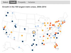 Brookings Metro Monitor, Wichita, Map 2016-02