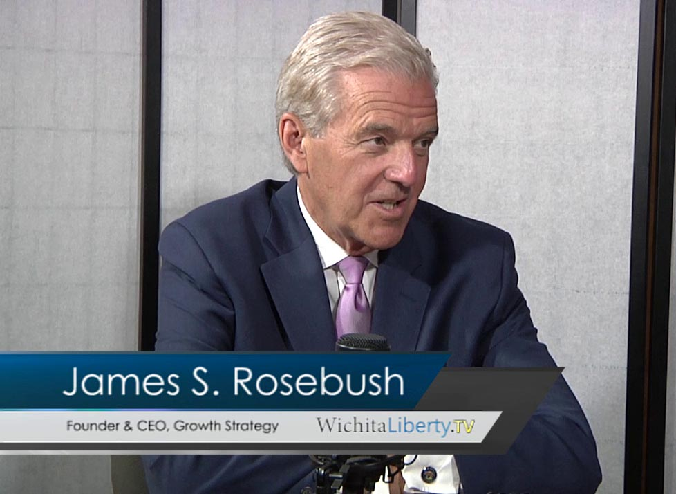 WichitaLiberty.TV: James Rosebush, author of 'True Reagan'
