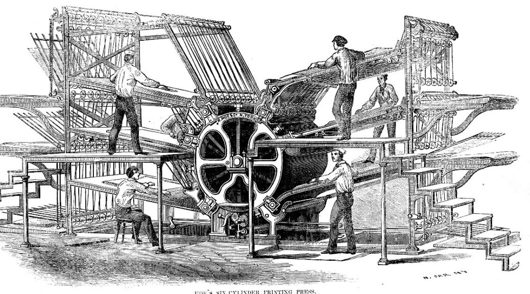 newspaper-printing-press-old