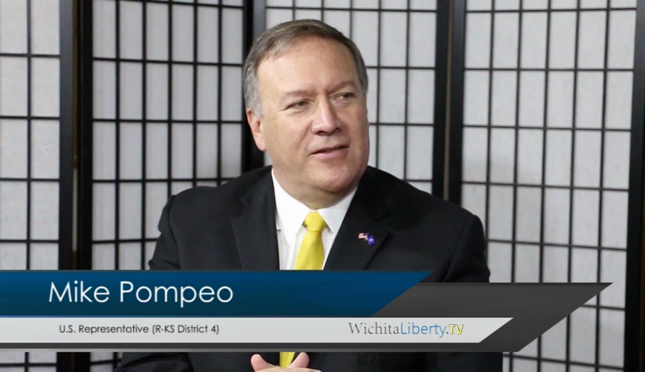 WichtaLiberty.TV: Congressman Mike Pompeo