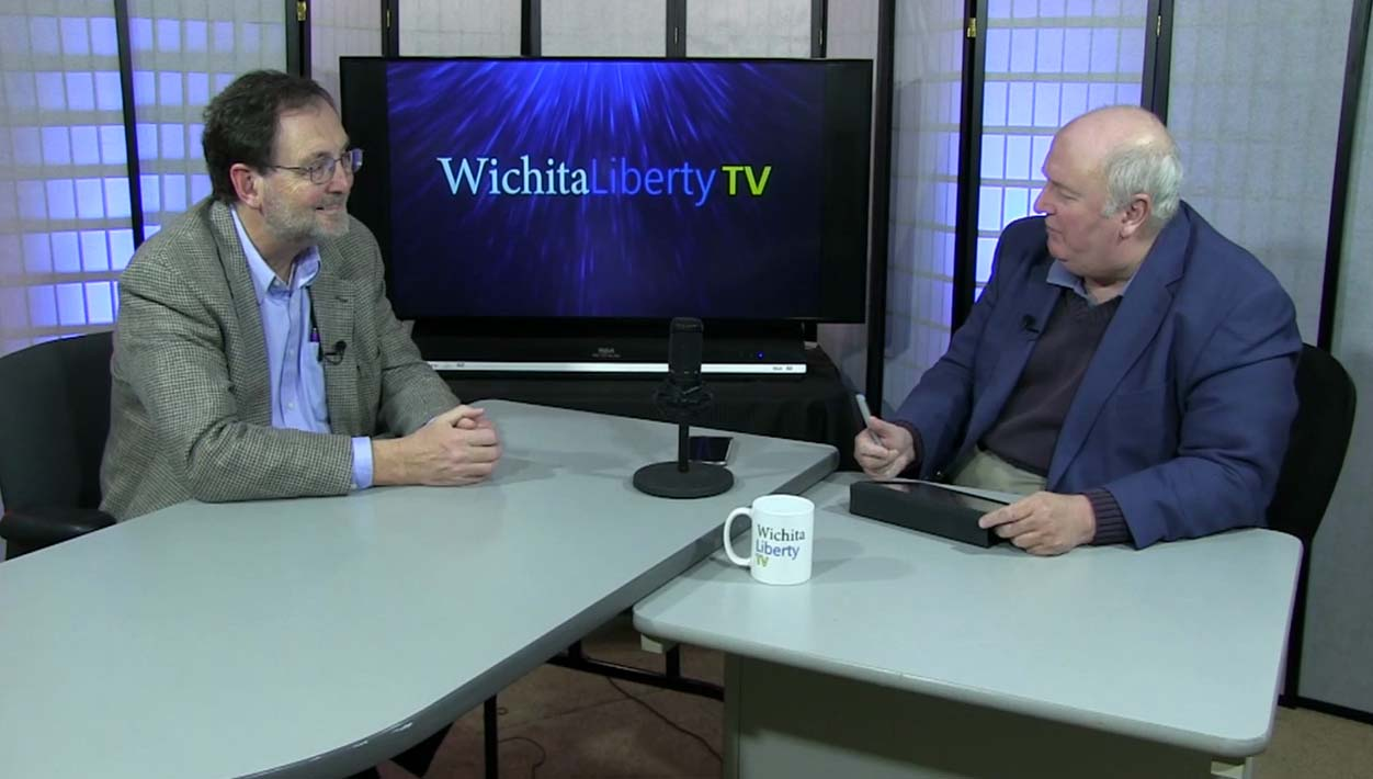 WichitaLiberty.TV: Immunizations, spending and taxing in Kansas, and getting data from Wichita