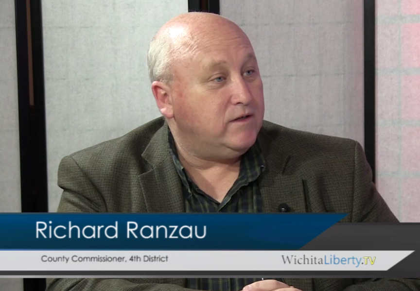 WichitaLiberty.TV Sedgwick County Commissioner Richard Ranzau