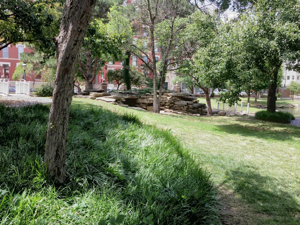 Naftzger Park, according to Wichita Mayor Jeff Longwell