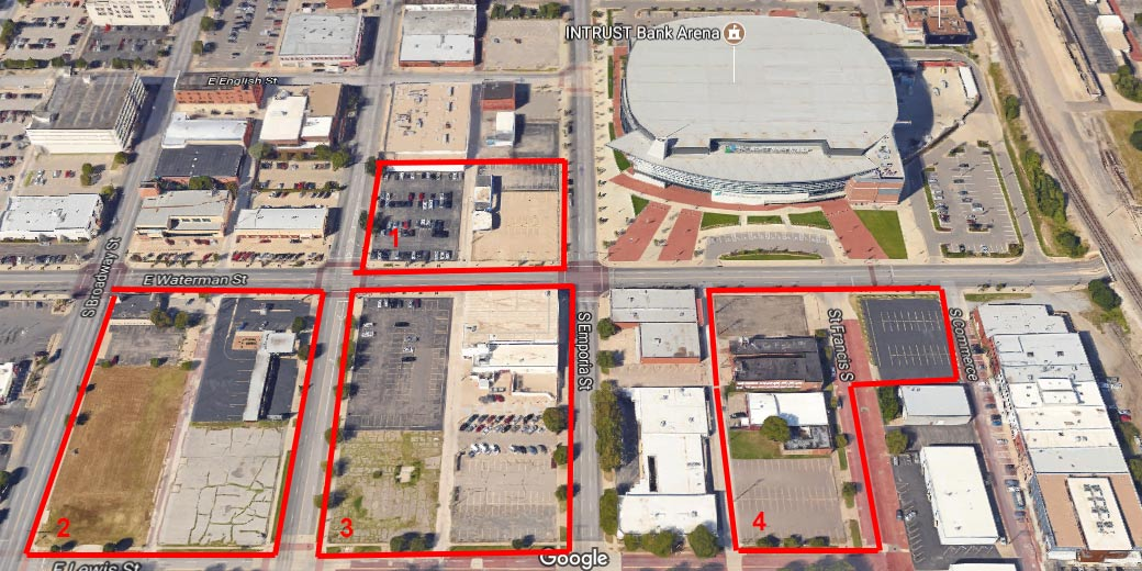 Downtown Wichita gathering spaces that don't destroy a park