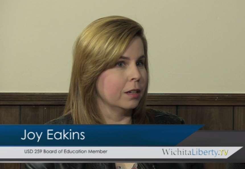 WichitaLiberty.TV: Wichita school board member Joy Eakins