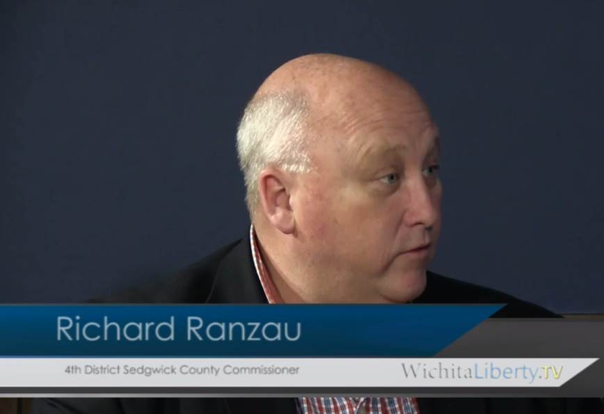 WichitaLiberty.TV: Sedgwick County Commissioner Richard Ranzau