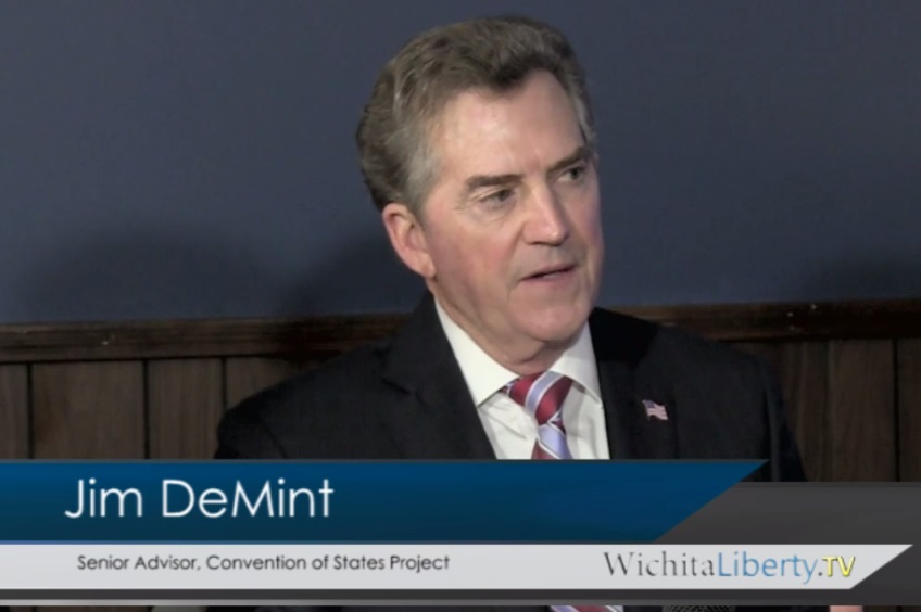 WichitaLiberty.TV: Senator Jim DeMint and Convention of States