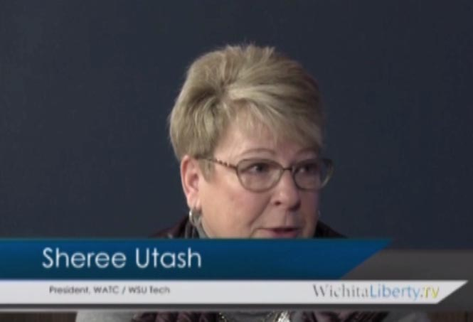 WichitaLiberty.TV: WATC and WSU Tech President Sheree Utash