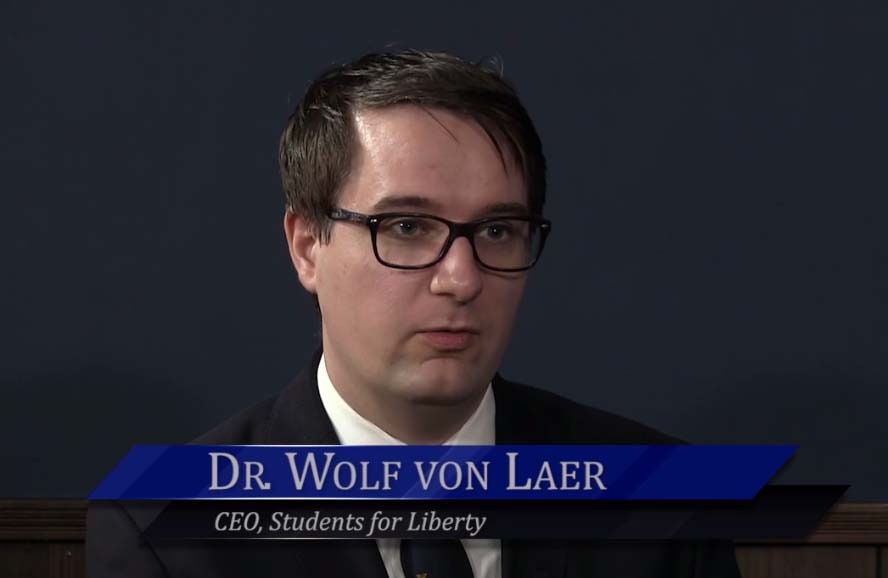WichitaLiberty.TV: Dr. Wolf von Laer of Students for Liberty