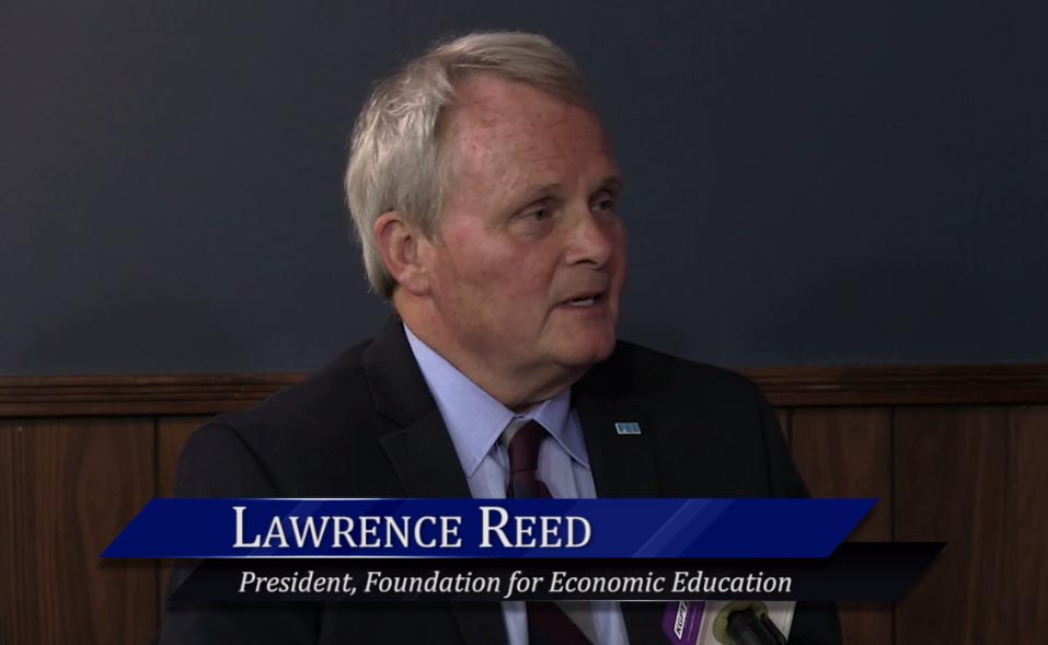WichitaLiberty.TV: Larry Reed, Foundation for Economic Education