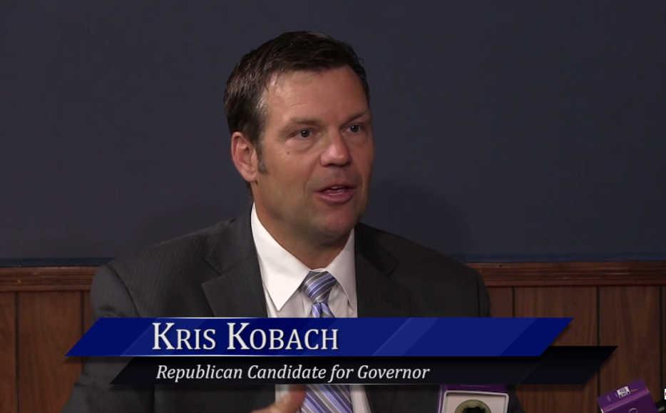 WichitaLiberty.TV: Kansas Gubernatorial Candidate Kris Kobach