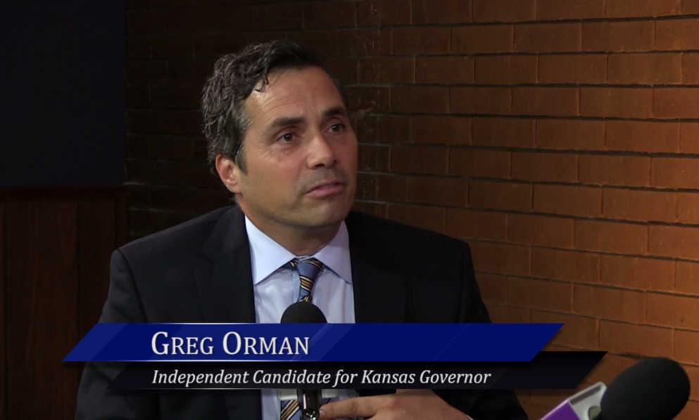 WichitaLiberty.TV: Kansas gubernatorial candidate Greg Orman