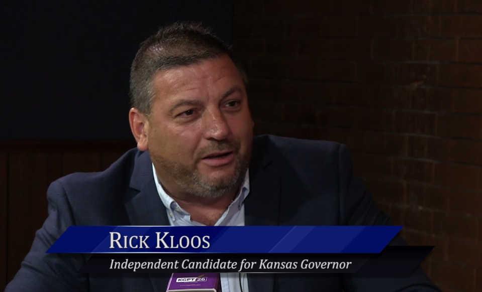 WichitaLiberty.TV: Kansas gubernatorial candidate Rick Kloos